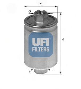Фильтры топливные Фильтрец UFI арт.