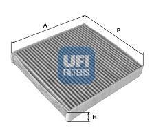 Фильтры прочие Фильтр, воздух во внутренном пространстве UFI арт. 5411900