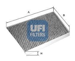 Фильтры прочие Фильтр, воздух во внутренном пространстве UFI арт. 5413300
