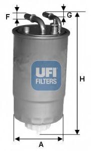 Паливний фільтр UFI 2409900