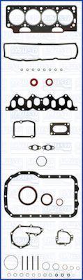 Комплект прокладок з різних матеріалів AJUSA 50028600