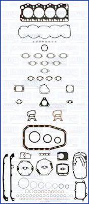 Комплект прокладок з різних матеріалів AJUSA 50149500