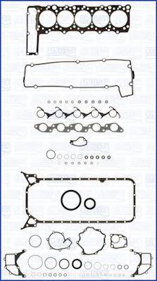 Комплект прокладок з різних матеріалів AJUSA 50158700