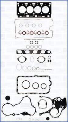 Комплект прокладок з різних матеріалів AJUSA 50279100