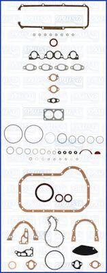 Комплект прокладок з різних матеріалів AJUSA 51007400