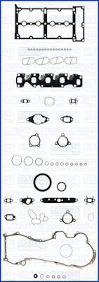 Комплект прокладок з різних матеріалів AJUSA 51028900