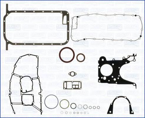 Комплект прокладок з різних матеріалів AJUSA 54080600