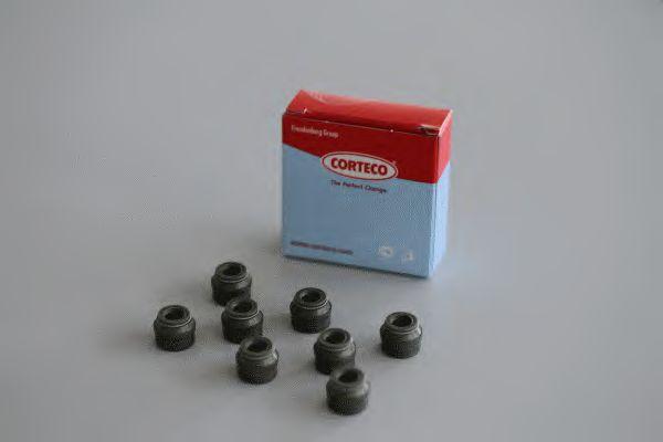 Сальник клапана Ваз 2101-07/Ваз 2108-099/Sens/таврия 1.3/Газ 406 (комплект 8шт) Corteco  CORTECO арт.