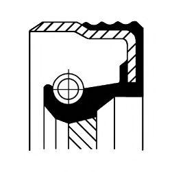 Уплотняющее кольцо, распределительный вал CORTECO арт. 12015548B