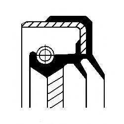 Уплотняющее кольцо, дифференциал CORTECO арт. 01035893B