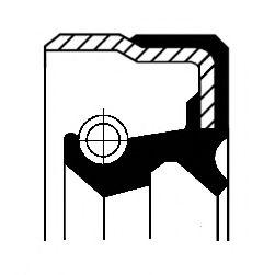 Уплотняющее кольцо вала, автоматическая коробка передач CORTECO арт. 01029717B