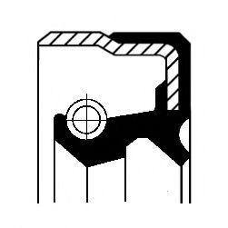 Уплотняющее кольцо, дифференциал CORTECO арт. 01026325B