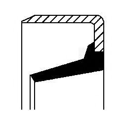 Уплотняющее кольцо, вспомогательный привод CORTECO арт. 01014602B