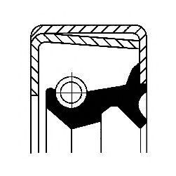 Уплотняющее кольцо, ступица колеса CORTECO арт. 12012064B