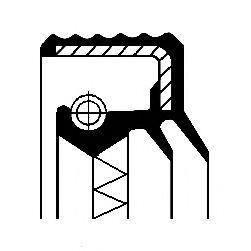 Уплотняющее кольцо, дифференциал CORTECO арт. 12017270B