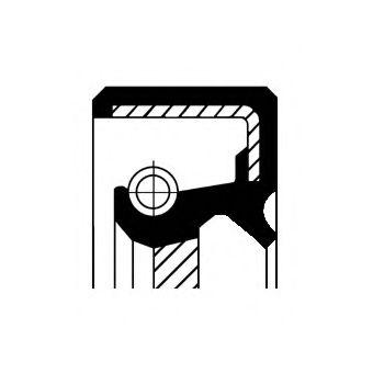 Уплотняющее кольцо, распределительный вал CORTECO арт. 20026695B
