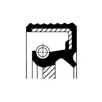 Уплотняющее кольцо, коленчатый вал CORTECO арт. 12016300B