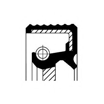 Уплотняющее кольцо, распределительный вал CORTECO арт. 15015977B