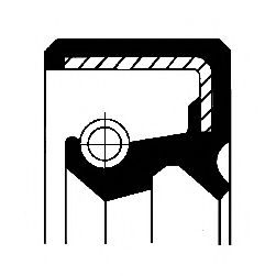 Уплотняющее кольцо, ступица колеса CORTECO арт. 12011155B
