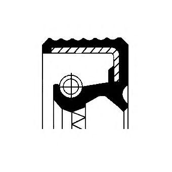 Уплотняющее кольцо, дифференциал CORTECO арт. 07015496B