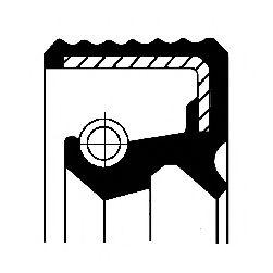 Уплотняющее кольцо, ступенчатая коробка передач CORTECO арт. 12018001B