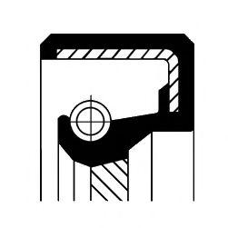 Уплотняющее кольцо, коленчатый вал CORTECO арт. 15510087B