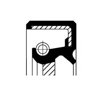 Уплотняющее кольцо, распределительный вал CORTECO арт.
