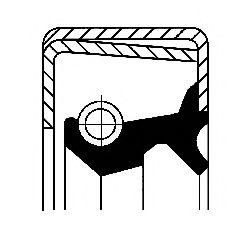 Уплотняющее кольцо, ступица колеса CORTECO арт.