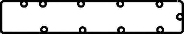 Прокладка, крышка головки цилиндра CORTECO арт. 026206P