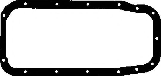 Прокладка, маслянный поддон CORTECO арт. 028001P