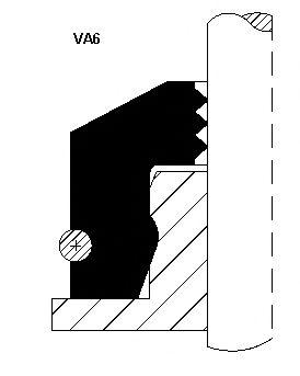Сальник клапана Corteco 12013392