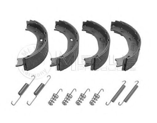Комплект тормозных колодок, стояночная тормозная система MEYLE арт.