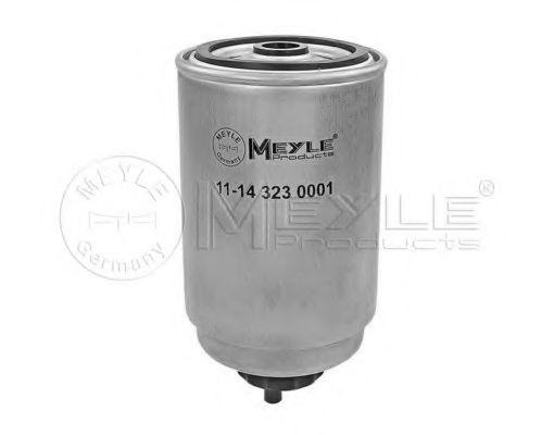 Фильтры топливные Топливный фильтр MEYLE арт. 11143230001