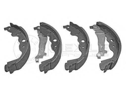 Комплект тормозных колодок MEYLE арт. 16145330016