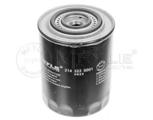 Масляный фильтр MEYLE арт. 2143220001