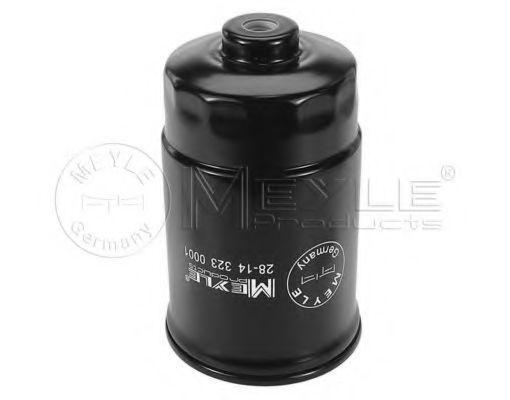 Фильтры топливные Топливный фильтр MEYLE арт. 28143230001