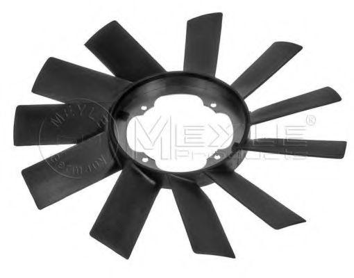 Крыльчатка вентилятора, охлаждение двигателя MEYLE арт.