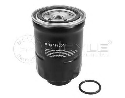 Фильтры топливные Топливный фильтр MEYLE арт. 32143230001