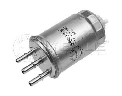 Фильтры топливные Топливный фильтр MEYLE арт. 7143230002