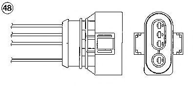 Лямбда-зонд NGK арт.