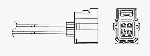 Лямбда-зонд NGK арт. 94175