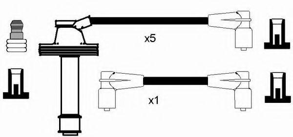 Комплект проводов зажигания NGK арт. 8468