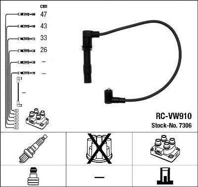 Комплект проводов зажигания NGK арт.