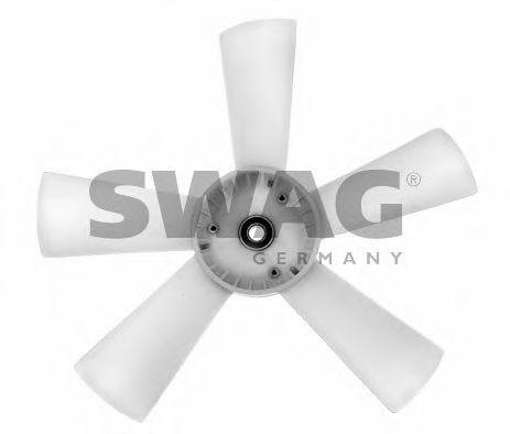 Крыльчатка вентилятора, охлаждение двигателя SWAG арт.