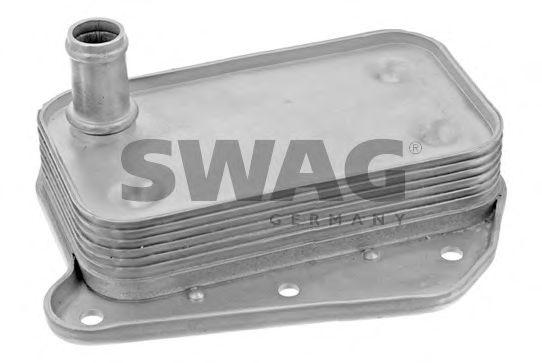 масляный радиатор, двигательное масло SWAG арт.
