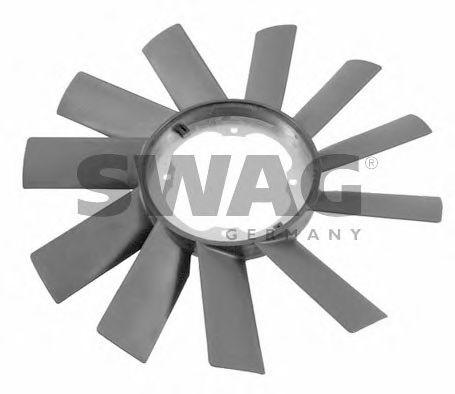 Крыльчатка вентилятора, охлаждение двигателя SWAG арт. 20922062