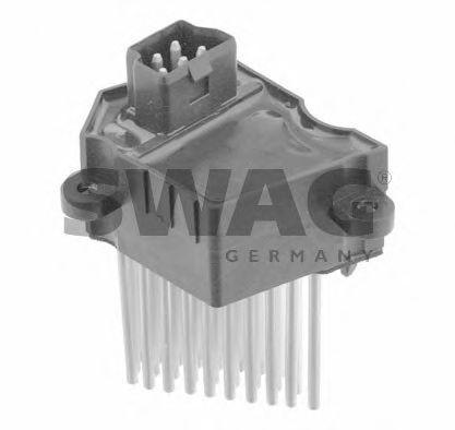 Блок управления, отопление / вентиляция SWAG арт. 20924617