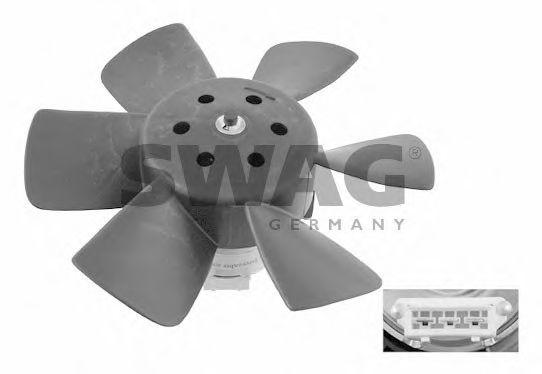 Вентилятор, охлаждение двигателя SWAG арт. 30906989