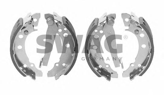 Комплект тормозных колодок SWAG арт. 30908202