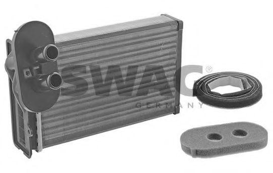 Теплообменник, отопление салона SWAG арт.